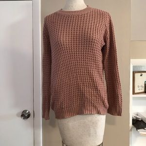 Pink Knitted sweater